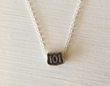 Sterling Silver Highway 101 Necklace by L. Makai