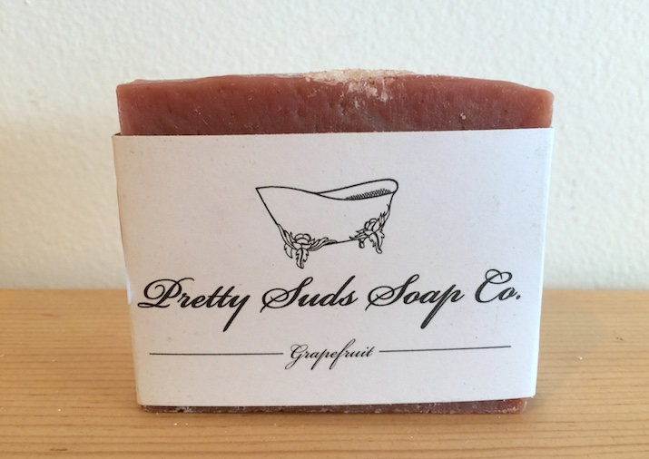 Pretty Suds Grapefruit Soap
