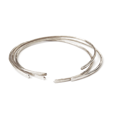 Three Sterling Silver Bangles