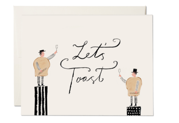 Let's Toast Card