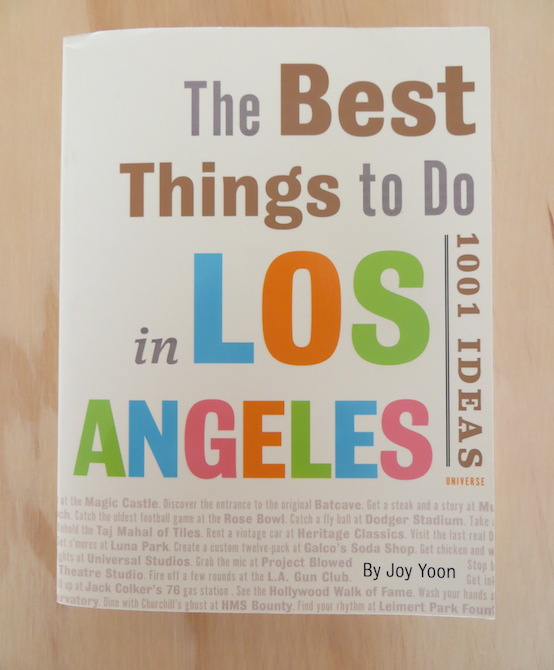 The Best Things to Do in Los Angeles Book