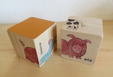 Wood Puzzle Blocks - Farm Animals
