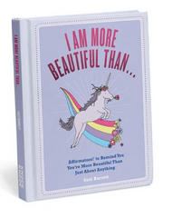 I Am More Beautiful Than . . . Affirmators!® Book