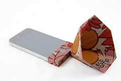 Paper iPhone Amp - Retro Floral