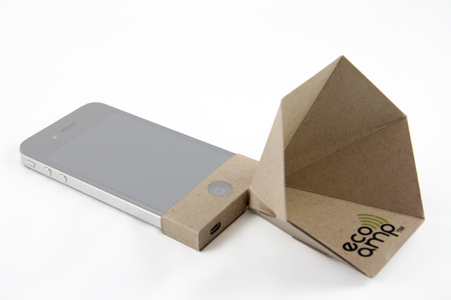 Paper iPhone Amp - Natural