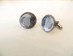 Griffith Observatory LA Landmark Cuff Links