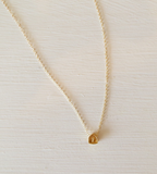 Gold Highway 1 Necklace by L. Makai