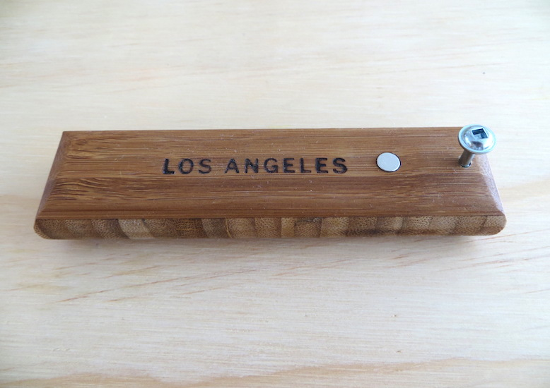 Bamboo Los Angeles Bottle Opener