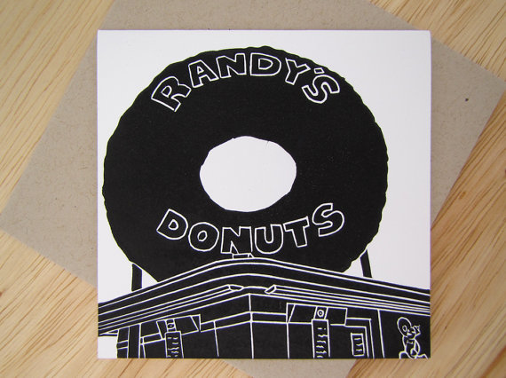 Randy's Donuts Card
