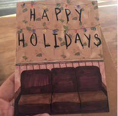 Stranger Things Holiday Card