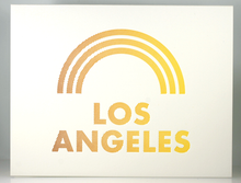 Load image into Gallery viewer, Rainbow LA Card