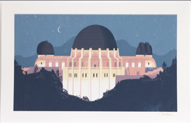 Griffith Observatory at Night 24x16