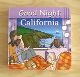 Good Night California Boaord Book