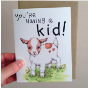You're Having a Kid Card