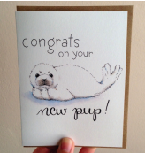New Pup Card