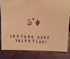 Cannabe Your Valentine Card