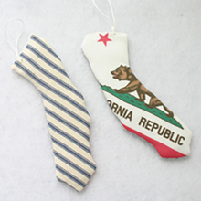 Load image into Gallery viewer, California State Flag Ornament at LACountyStore.com