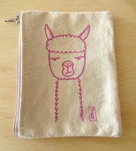 Load image into Gallery viewer, Handmade Llama Coin Pouch