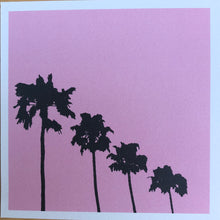Load image into Gallery viewer, Pink Los Angeles Print 5X5""