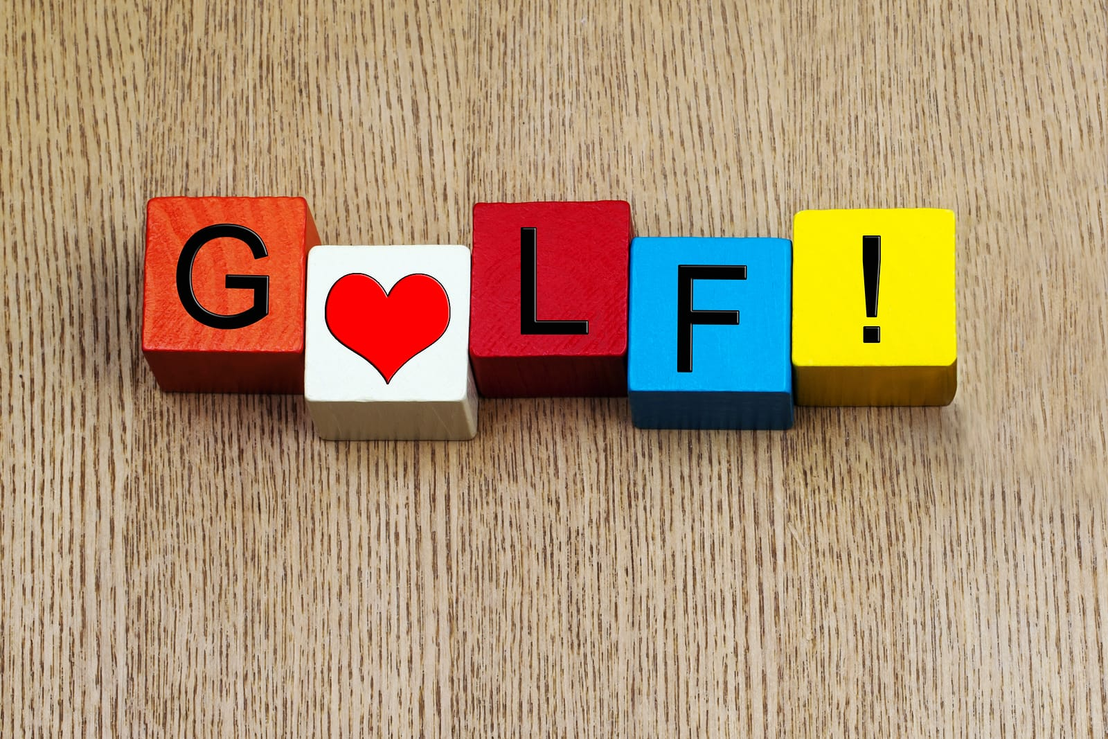 I Love Golf - Sign