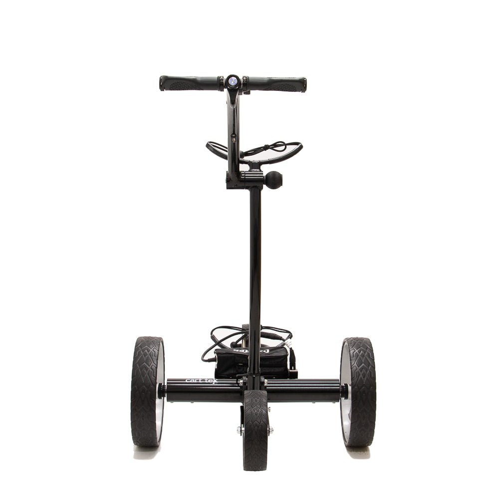Best Selling and Value Cart Tek GRi-1500Li Black Remote Controlled Golf Caddie. Rear View