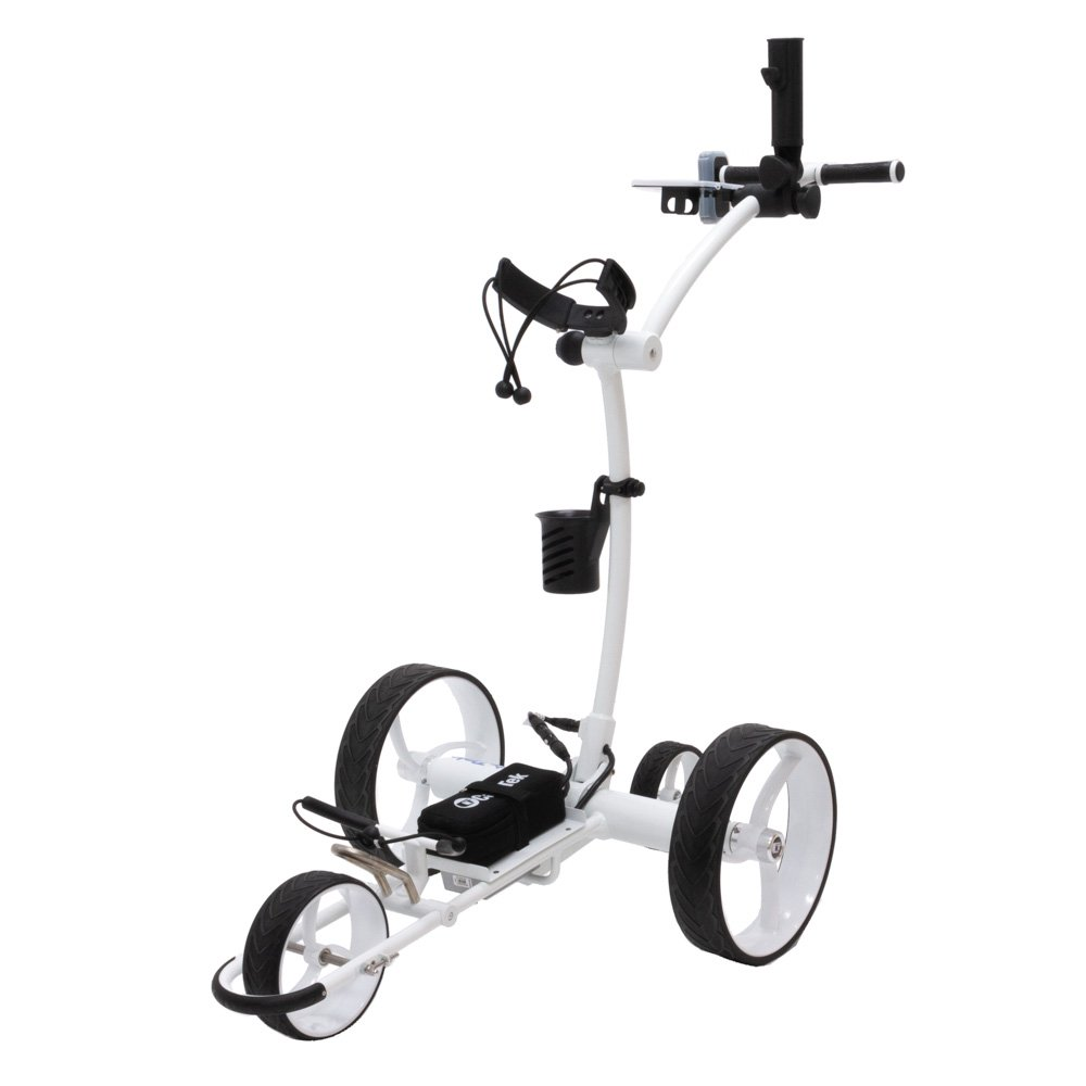 Best Selling Remote Controlled Golf Cart from Cart Tek: GRi-1500Li V2 in White.