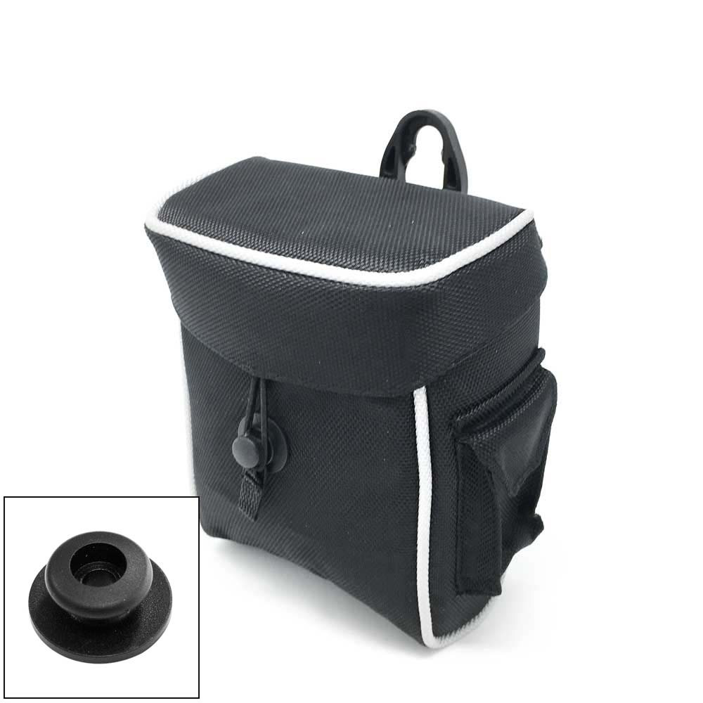 Cart Tek Range Finder Holder Bag with Single Button Mount.