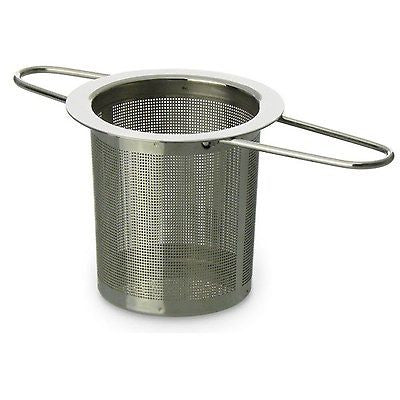 Schefs Premium Tea Infuser - Stainless Steel - Fine Tea Filter - Perfect Stra...