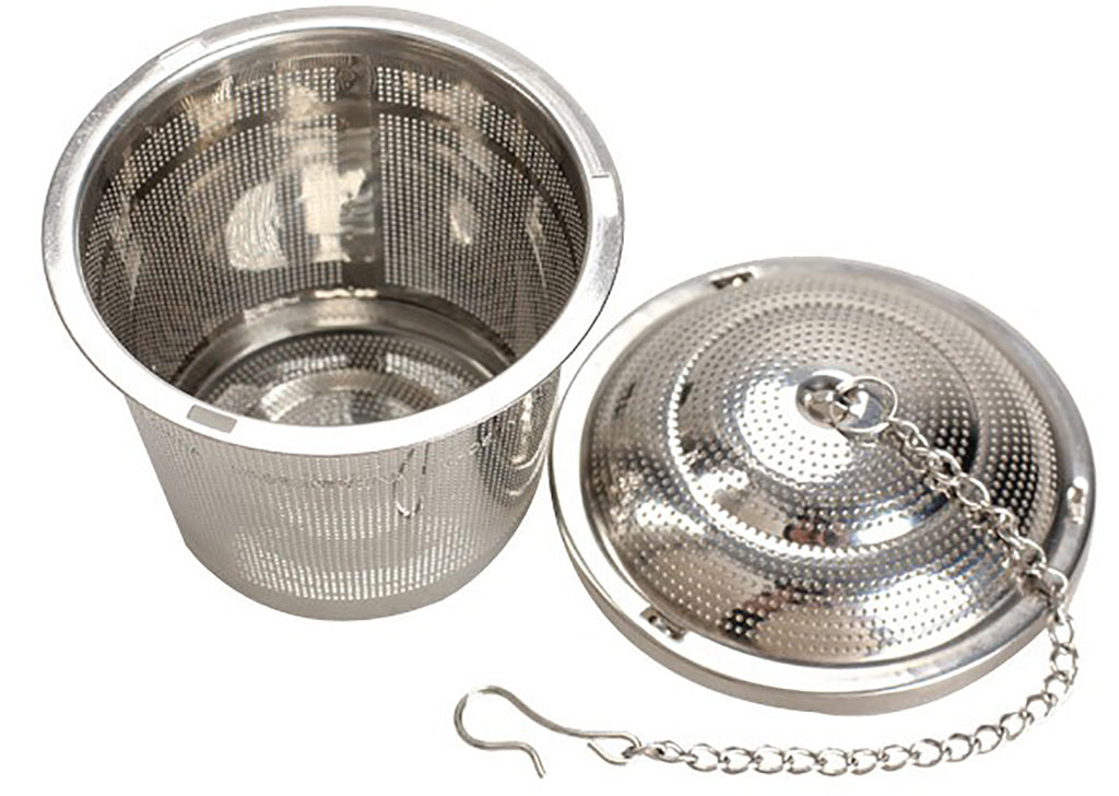 Schefs Premium Tea Infuser - Stainless Steel - Large Multi Cup Size