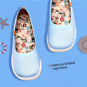 Valencia Knitted Light Blue
