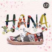HANA Art Painted Women Slipper zum Anziehen