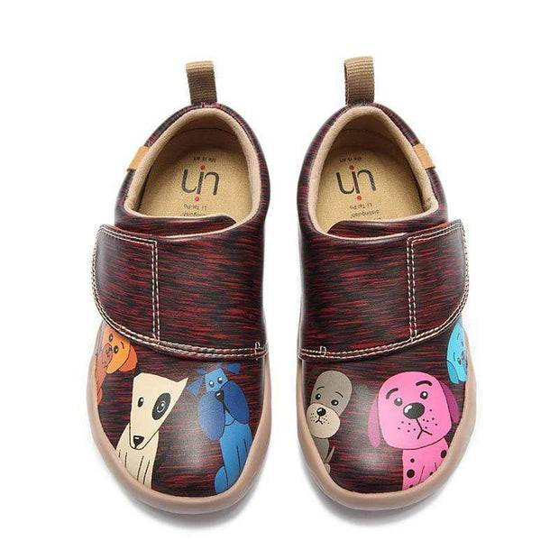 UIN Footwear Kid Doggy Canvas loafers