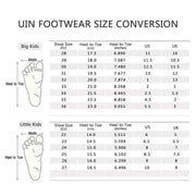 UIN Footwear Kid Little Bean Grey Kid Shoes Canvas loafers