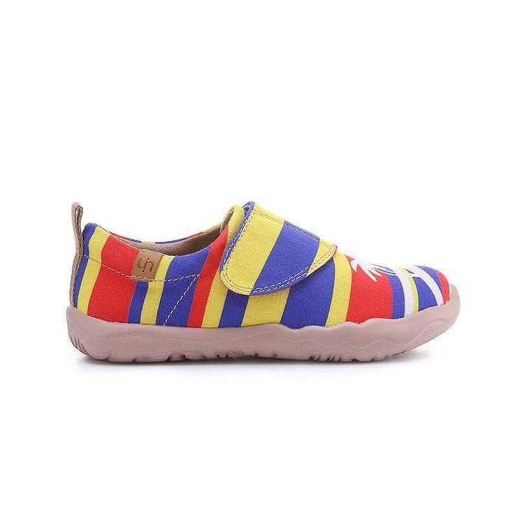 UIN Footwear Kid Wild Geese Canvas loafers