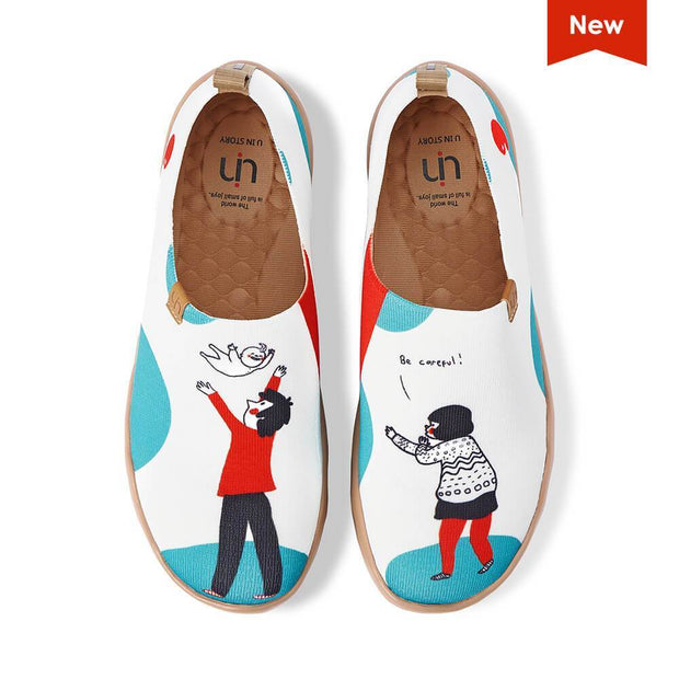 UIN Footwear Men Be Careful II Canvas loafers