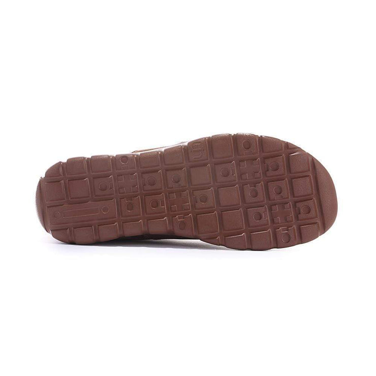 UIN Footwear Men Halifax Brown Men Canvas loafers