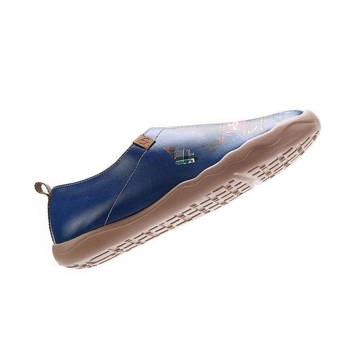 UIN Footwear Men Highlands Discovery Canvas loafers