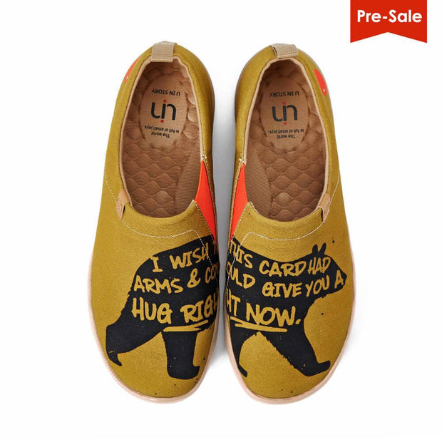 UIN Footwear Men Hug Right Now Canvas loafers