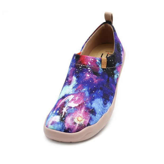 UIN Footwear Men Interstellar Canvas loafers