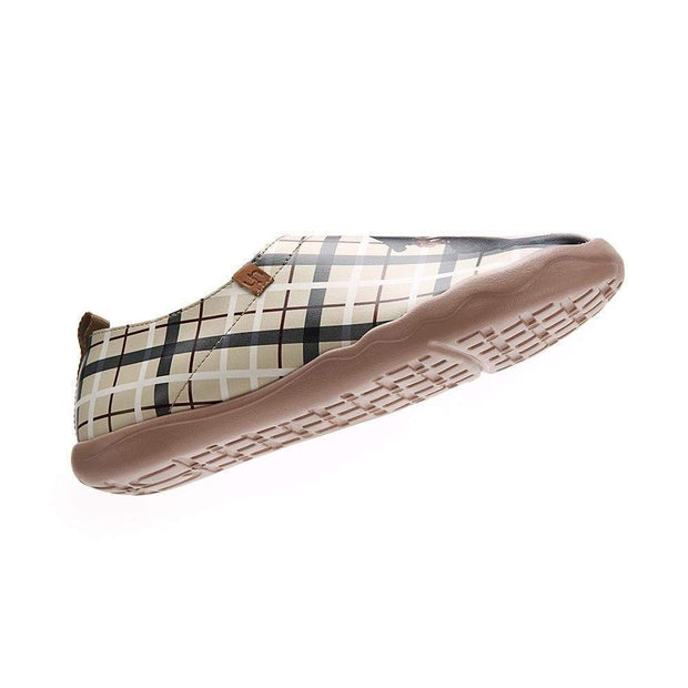 UIN Footwear Men Real Scottish Canvas loafers