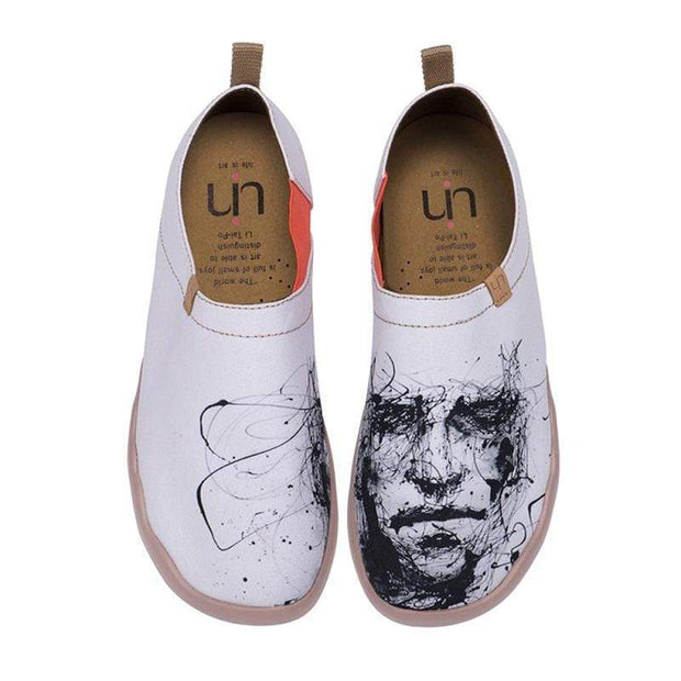 UIN Footwear Men Silent Man Canvas loafers