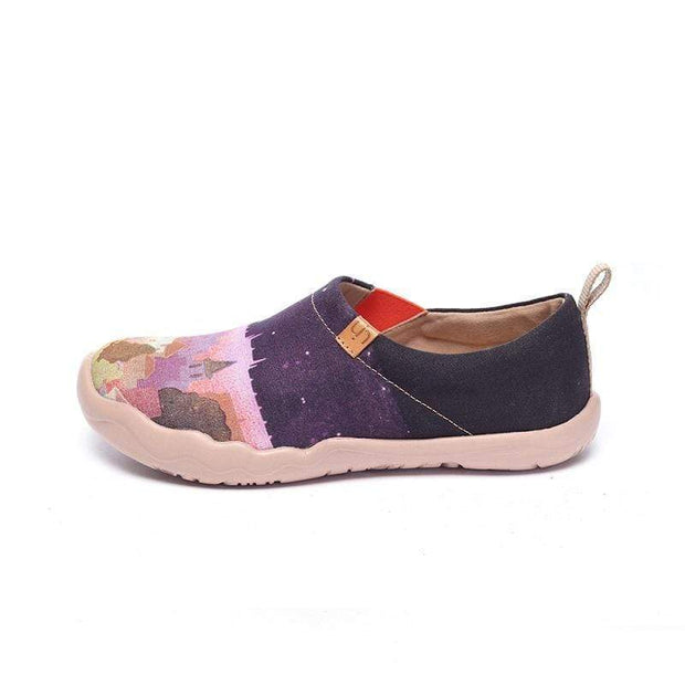 UIN Footwear Women Midnight  Princess Canvas loafers