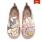 UIN Footwear Women Nelumbo Canvas loafers