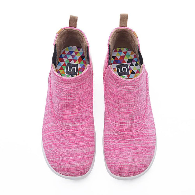 UIN Footwear Women Tengwu Pink Canvas loafers