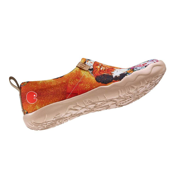 UIN Footwear Women The Cycles of Life Canvas loafers