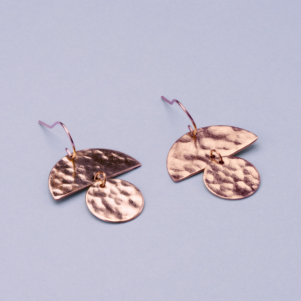 Copper Breeze Earrings
