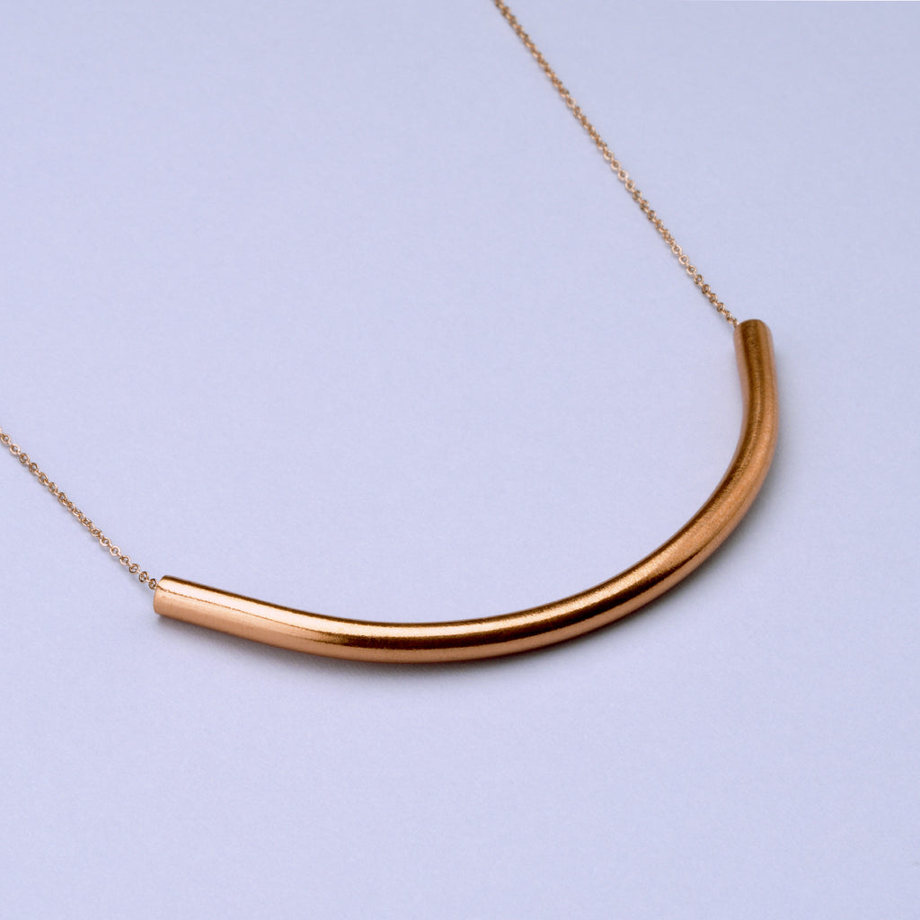 Equinox Necklace Copper/Brass