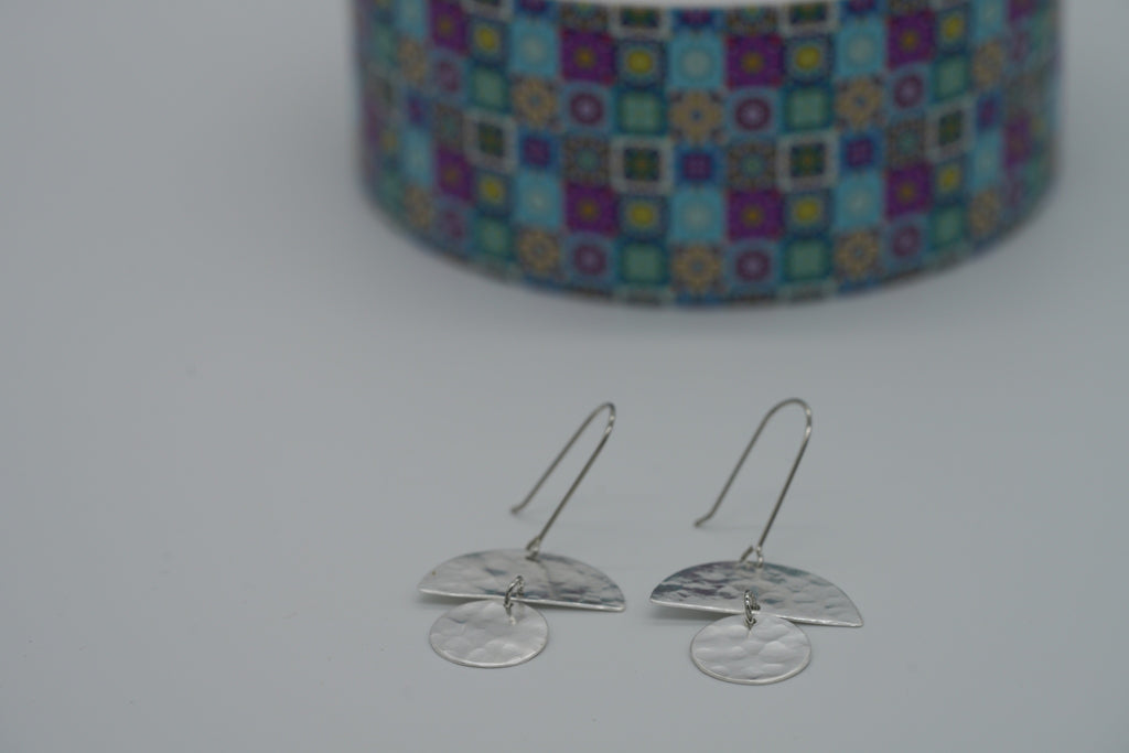 Silver Breeze Earrings