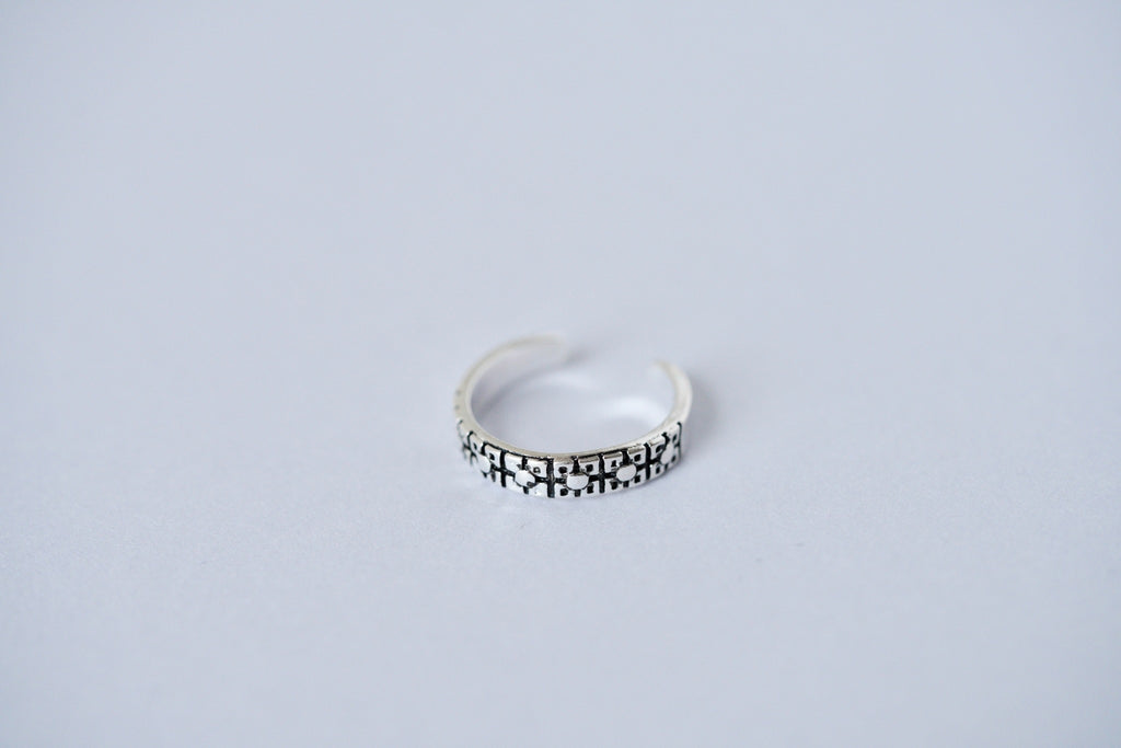 Thai Sterling Silver Ring