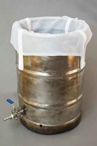 The Brew Bag for Keggles - Designed for no sparge Brew In A Bag